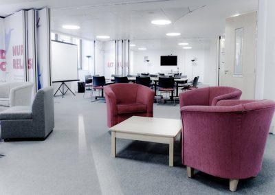 Breakthrough Cancer Trust - cordiale 03 fibre bonded office public grey