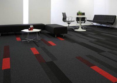 balance echo planks - tufted loop pile - grey black - studio - 00069