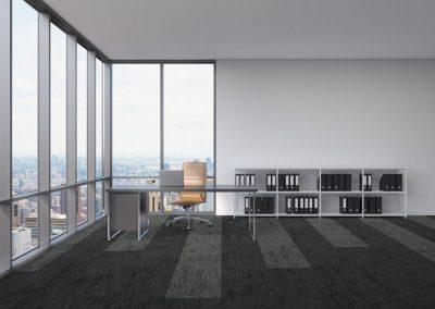 offices - multilevel loop - alaska - grey green - anchor moose - 03